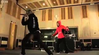 Odd Future - Sandwitches (Tyler, The Creator, Hodgy Beats, Syd Tha Kid) LIVE BBC Radio #tidyversion