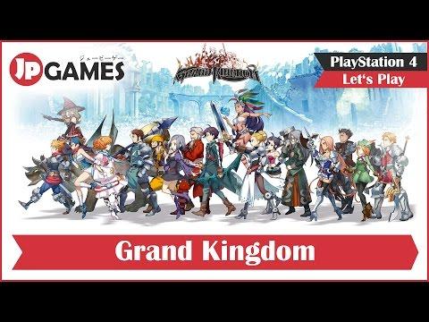 Grand Kingdom Gameplay - Deutsch / German | PS4
