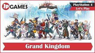 Grand Kingdom Gameplay - Deutsch / German   PS4