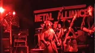 GOTLAND - Slaves ov the Empire - live @ Metal Alliance Fest 2012