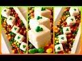 Super Simple Easy Petit Four Mini Bite Size Cakes for St Patrick's Day