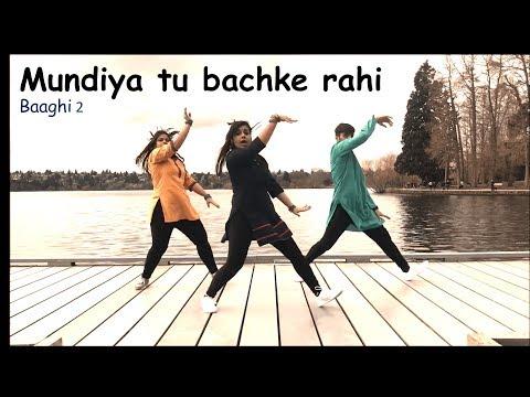 Mundiyan | Baaghi 2 | Bhangra Hip Hop Dance Cover | Arpit, Poorva & Annwesha
