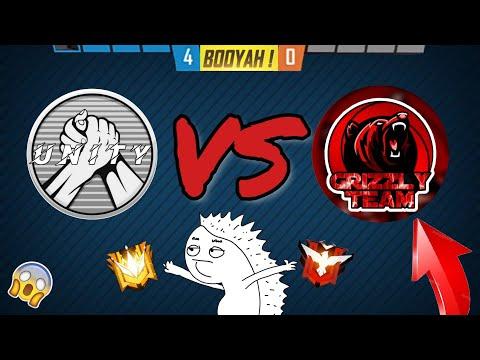 Unity VS Grizzly Team // Выиграли в СУХУЮ! // Free Fire