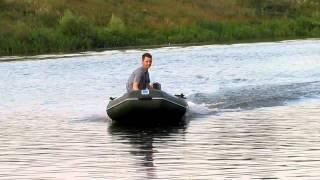 лодка нептун 260 и два мотора yamaha 2 л.с.(испытание силы двух моторов., 2011-07-28T22:24:59.000Z)