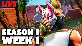 Fortnite Season 5 Week 1 Challenges, Golf Karts, Golfing and More Live