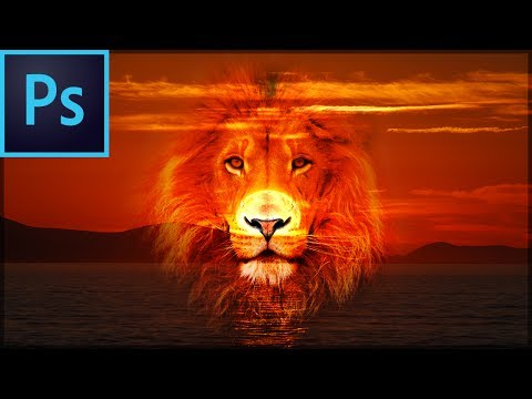 How to combine multiple pictures in photoshop cs6