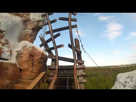 Expedition Everest Roller Coaster Front Seat POV On-Ride Animal Kingdom Walt Disney World HD