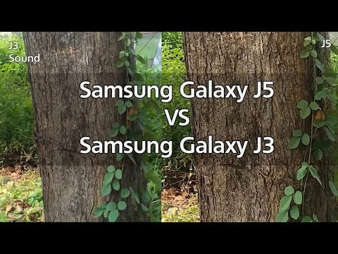 Galaxy J3 Camera Vs Galaxy J5 Camera | Video & Photo Test