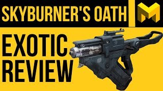 My New Favorite PVE Scout Rifle: Skyburner's Oath Exotic Review