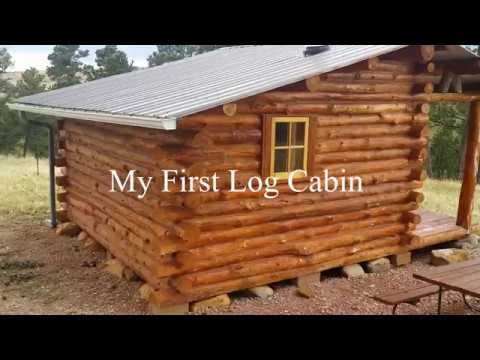 My First Log Cabin - A Simple design you can build