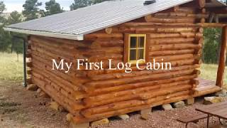 My First Log Cabin   A Simple Design You Can Build