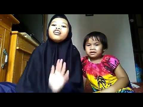 Vidio viral! Anak kecil yang di cuekin sangkakak kagetnya bikin ngakak abis😄