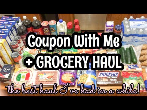 COUPON FOR GROCERIES WITH ME + GROCERY HAUL | November 2019