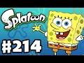 Splatoon - Gameplay Walkthrough Part 214 - Spongebob Squarepants Splatfest Soon! (Nintendo Wii U)