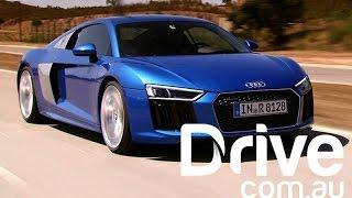 2016 Audi R8 V10 Road & Track Review | Drive.com.au