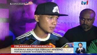 perlawanan persahabatan harimau malaysia perkuat benteng pertahanan bertemu filipina 19 mac 2017