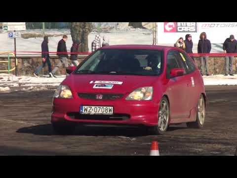 M. Patryn / J. Bajer - Honda Civic  - 3 Runda Królewski Winter Cup  Tor Służewiec 18-03-2018