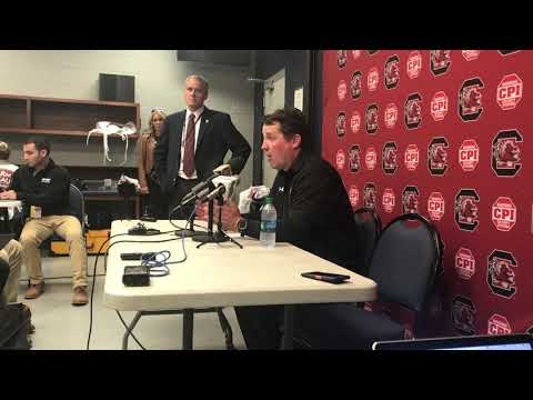 Will Muschamp after a 48-44 win over Ole Miss