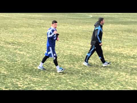Messi en washington dc , El zol 107.9fm