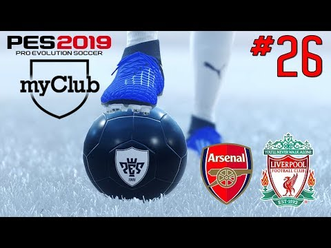 PES 2019 - MYCLUB #26 - PACK OPENING / ARSENAL - LIVERPOOL CLUB SELECTION
