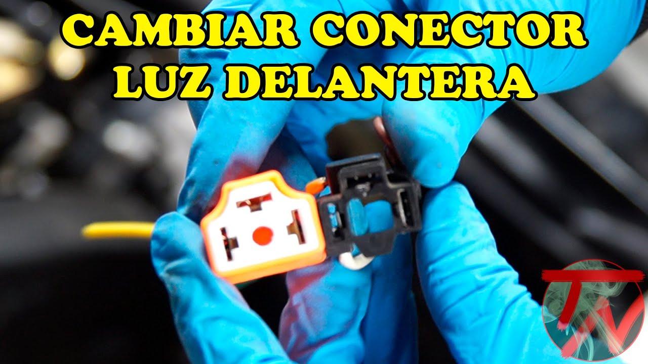 cambiar conector luz delantera vehiculo ������ youtube