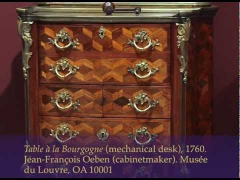 Royal Treasures from the Louvre: A Mechanical Desk