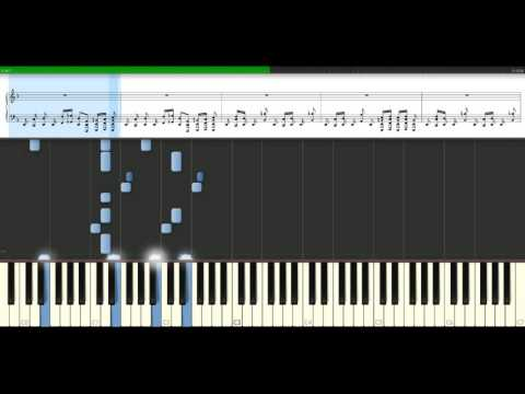 Rage Against The Machine - Killing In The Name Of [Piano Tutorial] Synthesia
