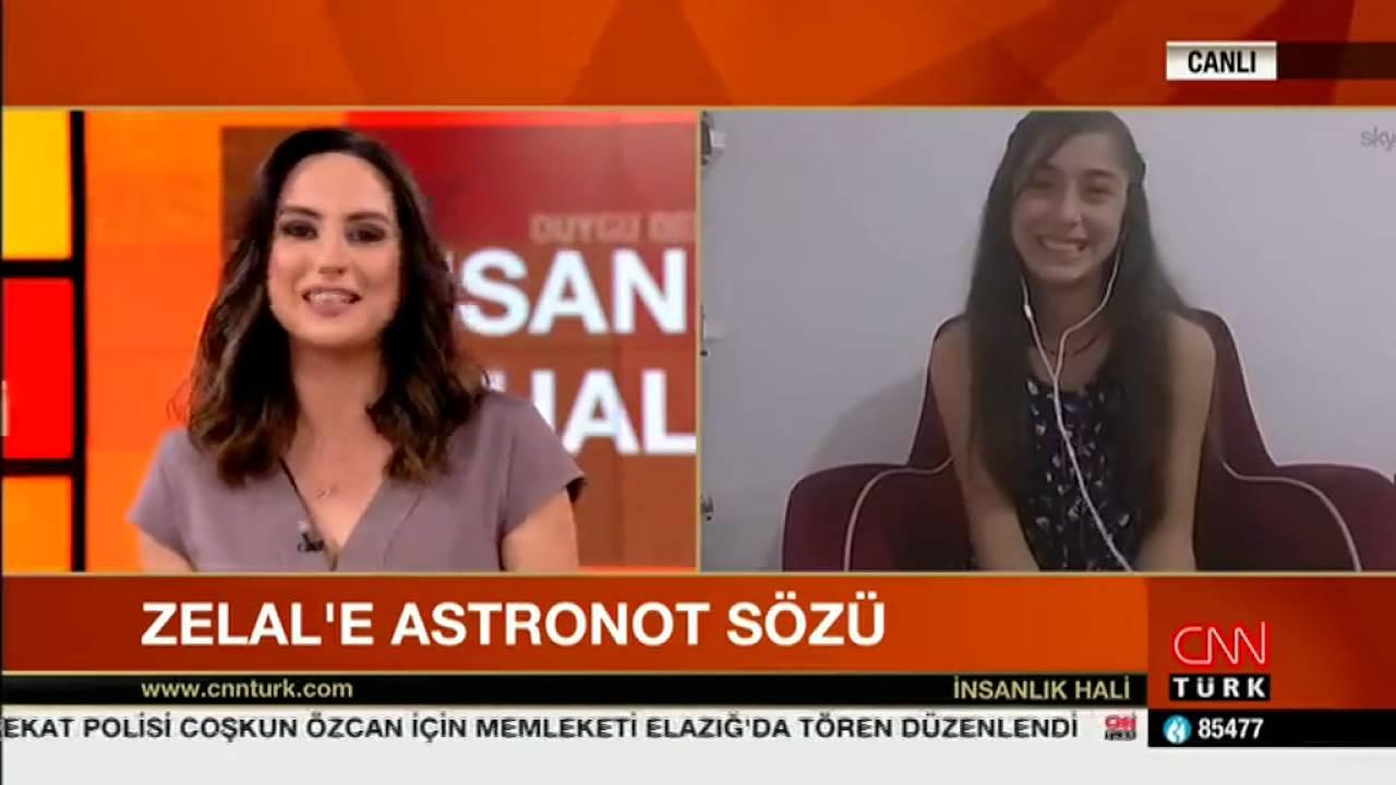 Türkiyenin En Genç Astronotu Halil Kayikci Ve Selçuk Topal Cnn Türk