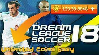 Cara Instal Dream League Soccer 2018 Mod Apk 5.00 Hack Coin | Unlimited Money