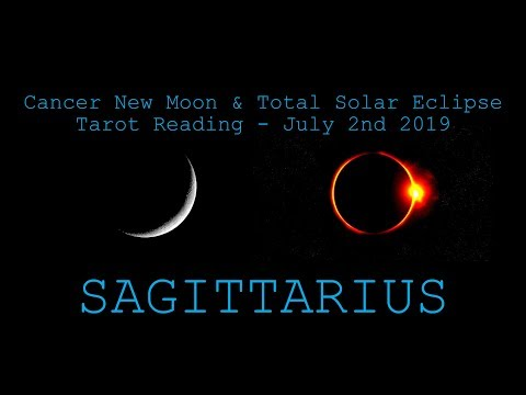 Sagittarius - Ships coming in! - New Moon & Solar Eclipse Reading July 2019