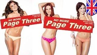 فرض حظر على صور الأثداء العارية في الصحف البريطانية بعد 44عاماً