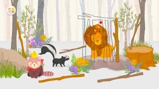 Roo & Pibi - A Forest Adventure Fun Game App for Baby Kids Toddlers