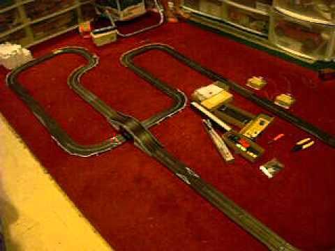 Slot Car Aurora Race Track