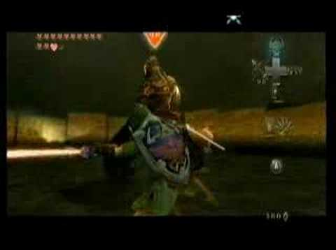 Zelda Twilight Princess Ganondorf Vs Link