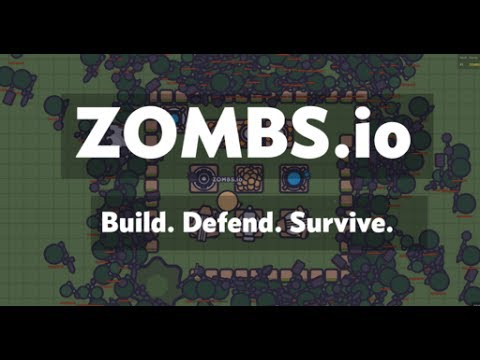 zombs.io - build defend survive