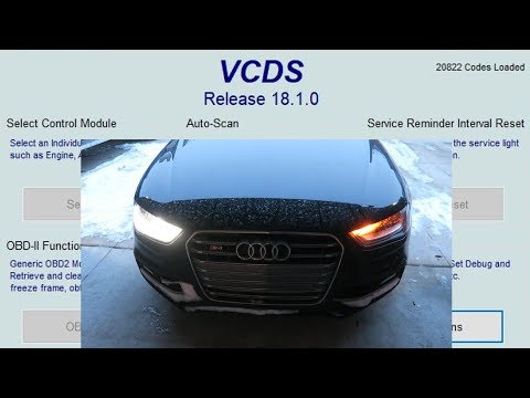 How To Do VAGCOM Audi Mods!