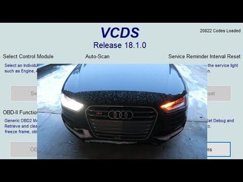 How To Do VAGCOM Audi Mods! - YouTube