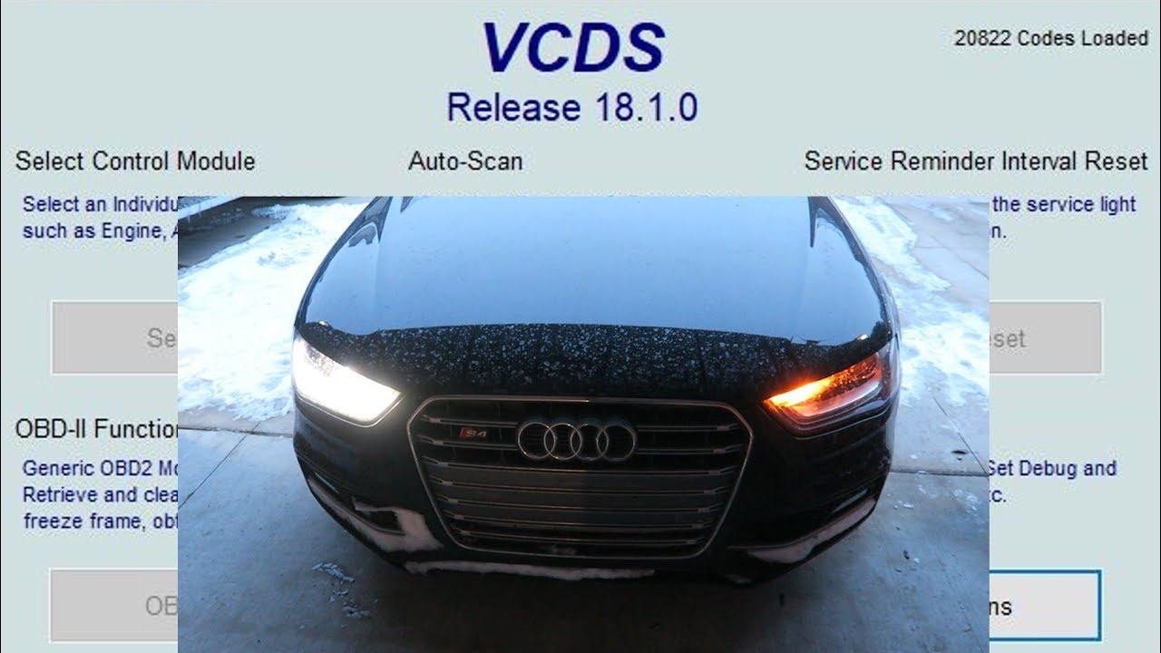 How To Do Vagcom Audi Mods Youtube