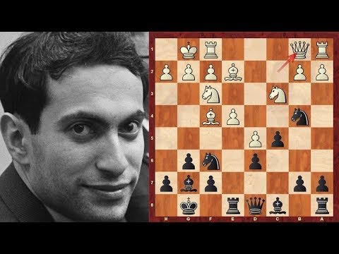 Mikhail Tal (Magician from Riga!) at the 1958 USSR championship - games with Black Magician!