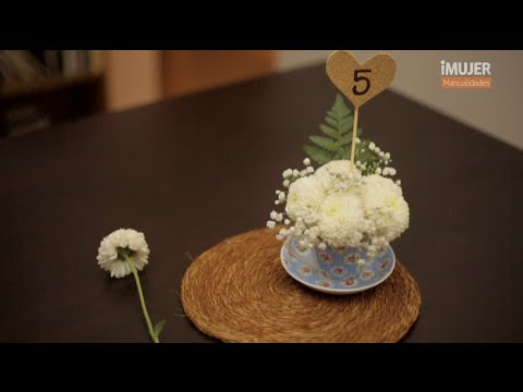 Centro de mesa para bodas diy vix youtube - Como hacer centros de mesa de boda ...