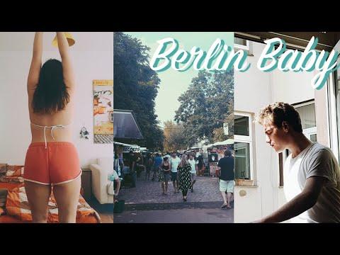 31 DEGREES IN BERLIN! Mauerpark Flea Market & Vegan Summer Food!