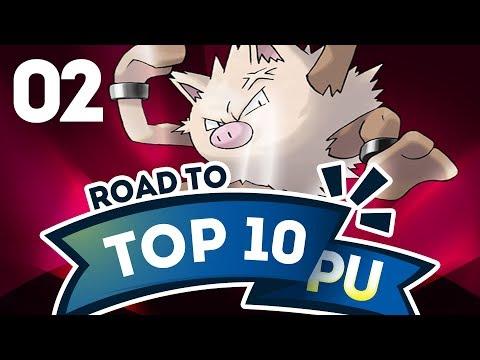 Pokemon Showdown Road to Top Ten: Pokemon Sun & Moon PU w/ PokeaimMD #2