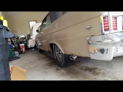 1966 AMC Rambler Rebel Classic - Hooker Aero Flow Exhaust