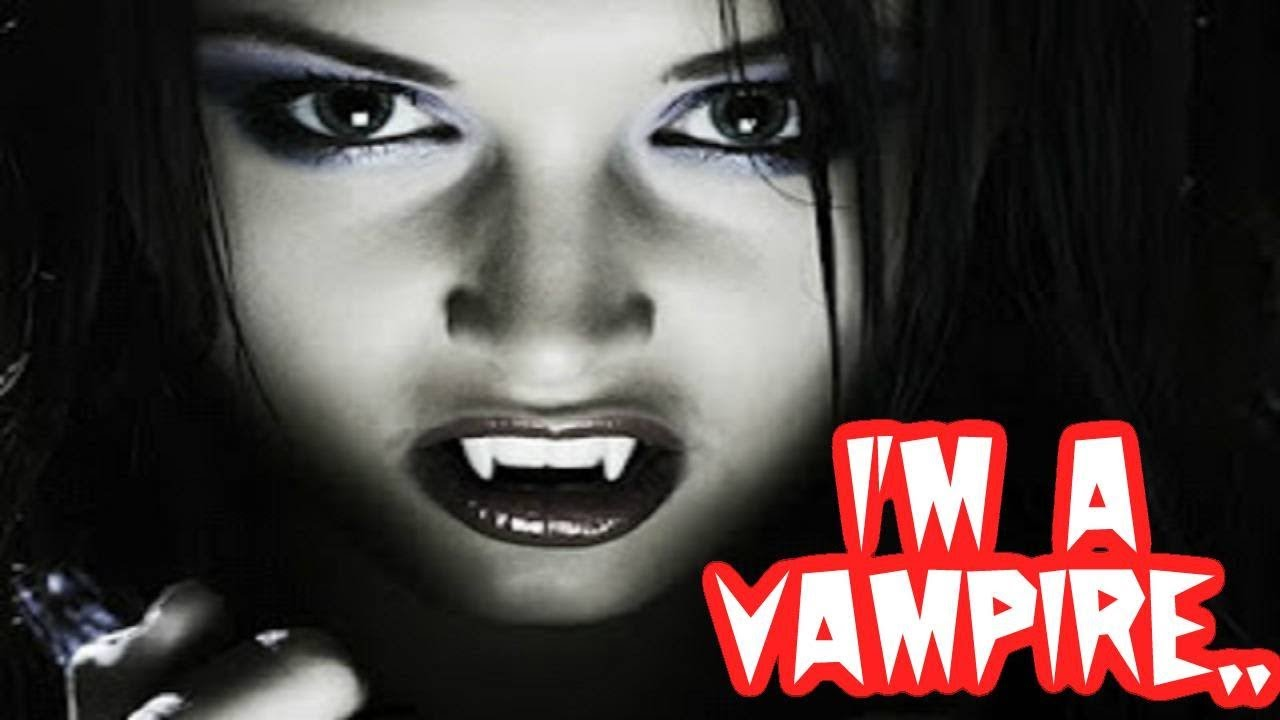 I want to meet a vampire