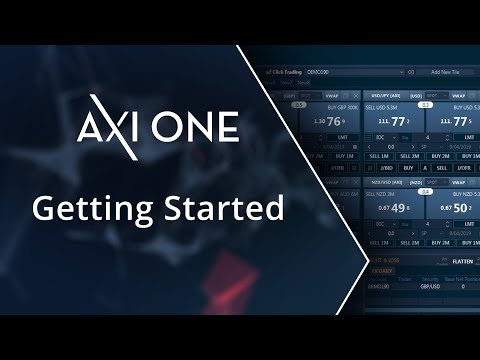 Getting Started Tutorial | AxiOne