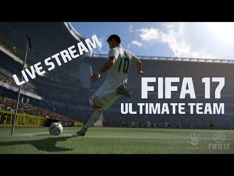 FIFA 17 CZ | Ultimate Team | PRVNÍ SPUŠTĚNÍ [LIVE]