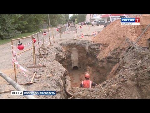 Ливневая канализация появится на улице Пугачёва в Вологде