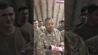Fallen soldier's baby reveal