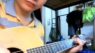 Tình Khúc Vàng ( Đan trường) - Guitar Solo ( theo bản Mitxi tòng)