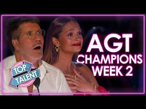 America's Got Talent: The Champions Auditions | WEEK 2 | Top Talent